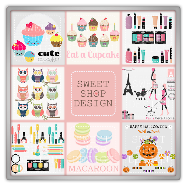 Sweet shop design preview