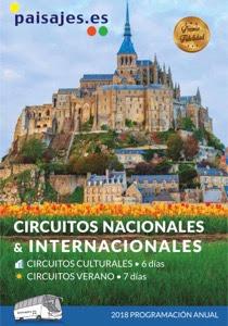 Circuitos nacionales e internacionales Paisajes 2018