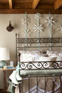 cuarto decorado en navidad