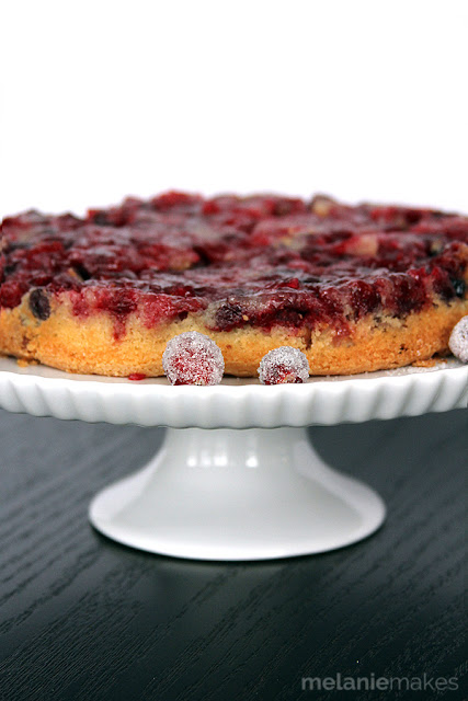 Cranberry Duff by Melanie Makes