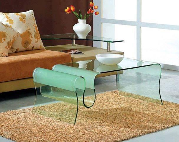 Construindo minha casa clean mesas de centro e de canto for Mesas auxiliares para sala modernas