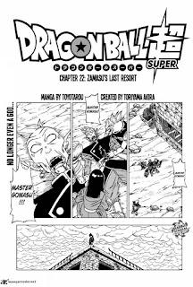 dragon ball super manga chapter 22