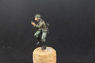 Galerie des figurines de soldats allemands WWII de tamiya au 1/35.