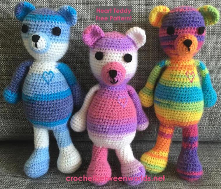 Crochet Between Worlds Teddy Mania