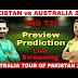 Watch Live streaming Pakistan vs Australia 2nd T20I (N) PTV Sports Australia tour of Pak/UAE at Dubai, Oct 26 2018