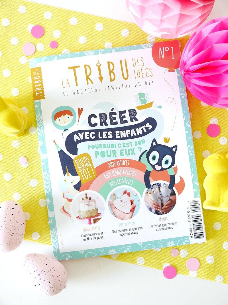 Le Magazine La Tribu des Idées - le premier magazine familial du bricolage, a sorti en kiosques le 21 Mars! Voici un petit avant-gout!