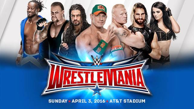 WWE Wrestlemania 32 Results