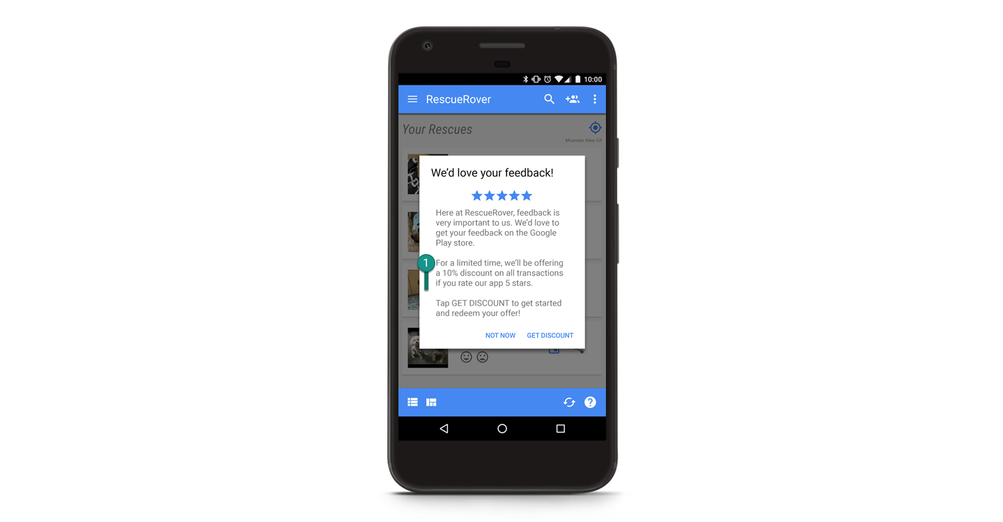 In reviews we trust — Making Google Play ratings and reviews