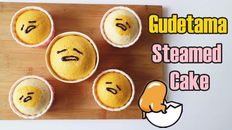 Gudetama Steamed Cake 蛋黃哥蒸蛋糕