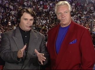 WCW Clash of the Champions 33 1996 REVIEW - Tony Shiavone and Bobby 'The Brain' Heenan were our commentators for the show