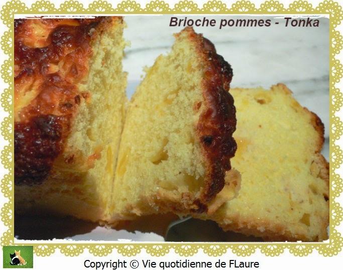 Vie quotidienne de FLaure: Brioche pommes - Tonka
