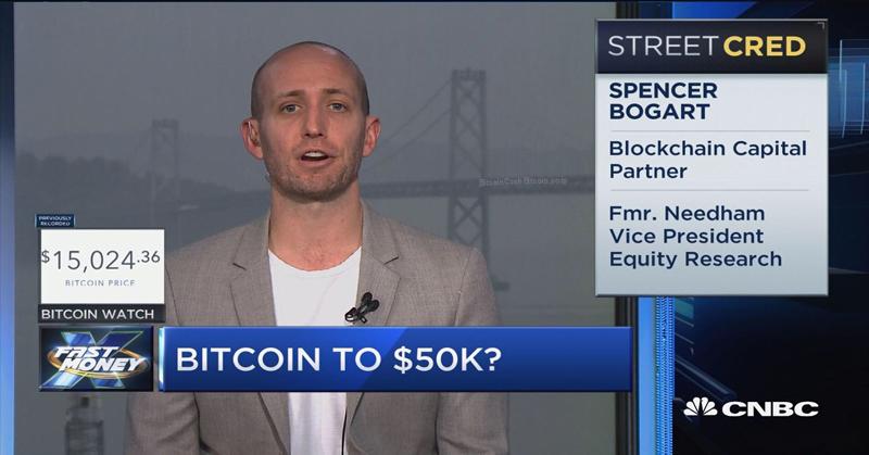 Capital Blockchain partner Spencer Bogart