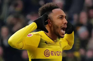 Sport: Aubameyang blasts German journalist over Arsenal move