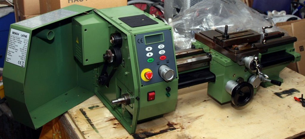 Year of the Basement: SIEG C4 lathe in the house