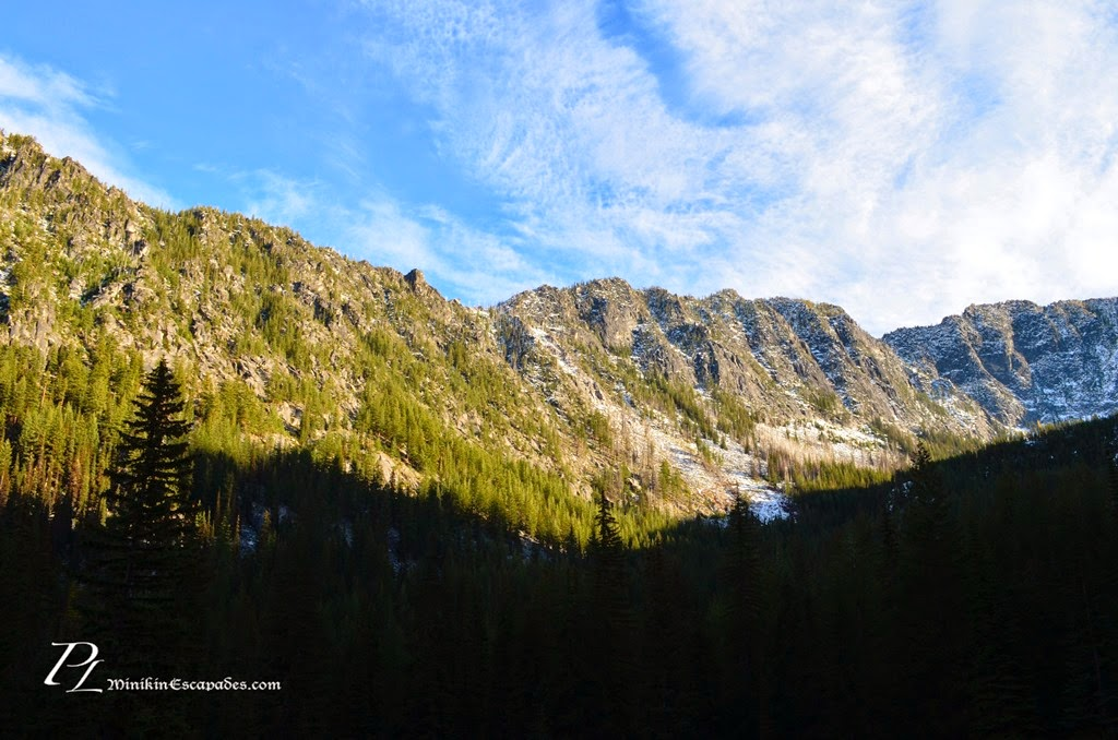 Start of the trailhead for enchantments
