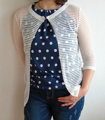 Sammydress-try-on-haul-cardigan-strisce