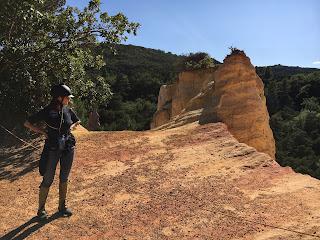 Colorado, ranska, riitta reissaa, Procence, Horsexplore