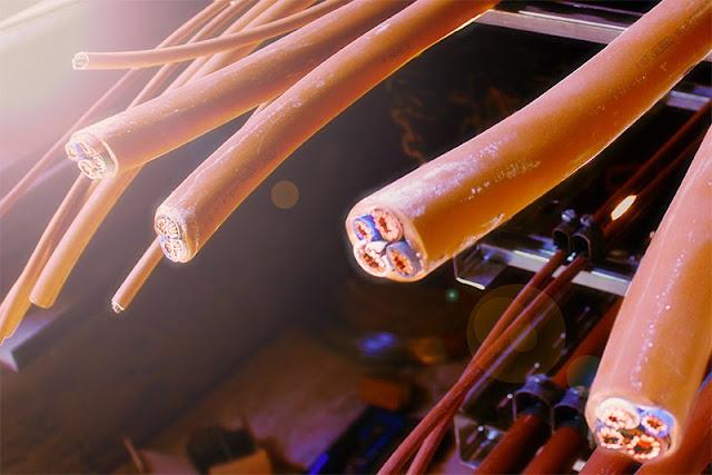 Cables cortados
