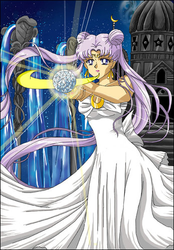 Queen+Serenity+-+Her+Power+with+Silver+C