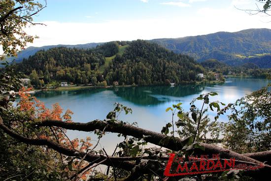Vistas desde el castillo de Bled