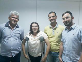 Vereadores de Nova Palmeira abandonam projeto político do deputado Buba Germano e resolvem apoiar pré-candidatura de Cida Ramos.