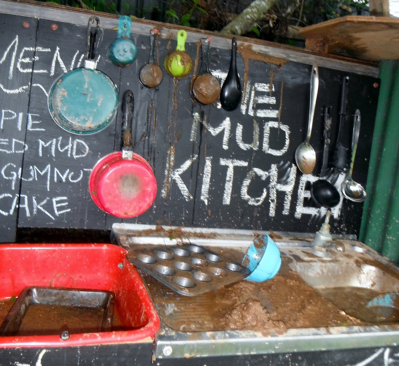 Messy Kitchen After Cooking: Adventures At Home With Mum: 8 Benefits Of Playing In The MUD