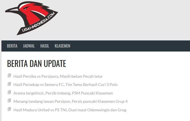 Berita Liga 1 Indonesia