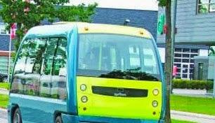 Space Bus χωρίς οδηγό στα Τρίκαλα!