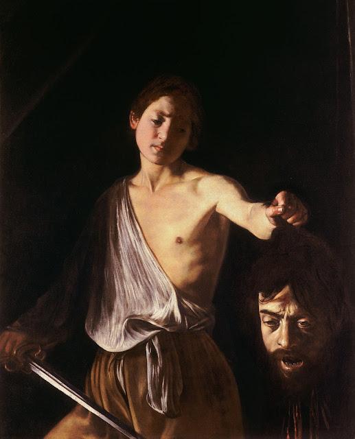 davi caravaggio galeria borghese guia roma portugues - Galleria Borghese: Caravaggio e Bernini para fortes corações
