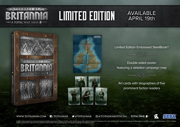 A Total War Saga Thrones of Britannia Limited Edition