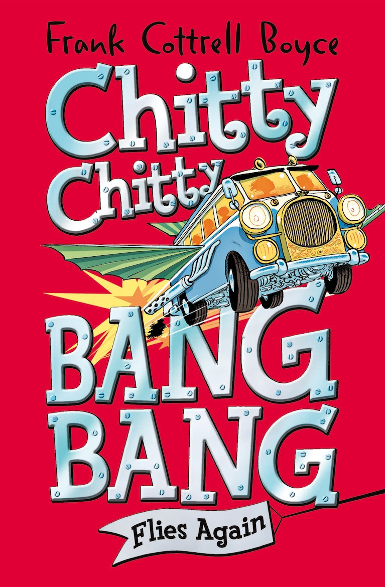 Classic Book Cover Uk : The book bond cover art for chitty bang flies