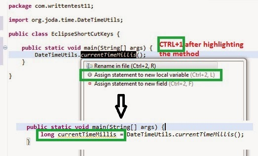 Top 10 Eclipse short-cut keys every Java developer using