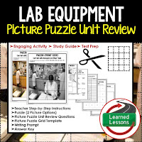 EARTH SCIENCE Test Prep, EARTH SCIENCE Test Review, EARTH SCIENCE Study Guide, Lab Equipment