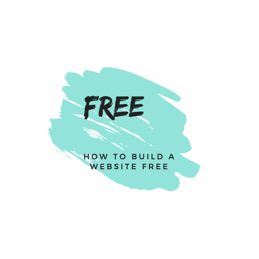 how to build a free website