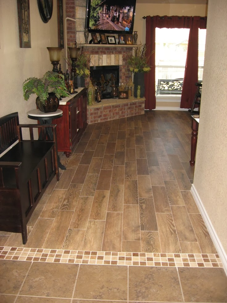 floor transition ideas, The Story Of Us: Kitchen and Family Room: New Flooring