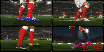 PES 2018 New Bootpack