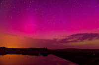 Aurora over Brecon Beacons
