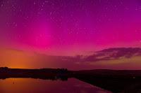 Aurora over Brecon Beacons