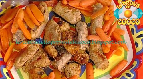 Messicanini di vitella con carotine al burro ricetta Moroni da Prova del Cuoco