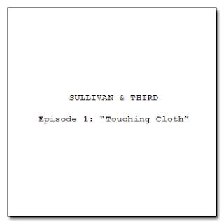 Screenplay titlepage