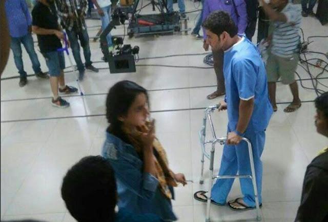 Mahesh babu, rakul Preet in Murugadosss movie On location photos