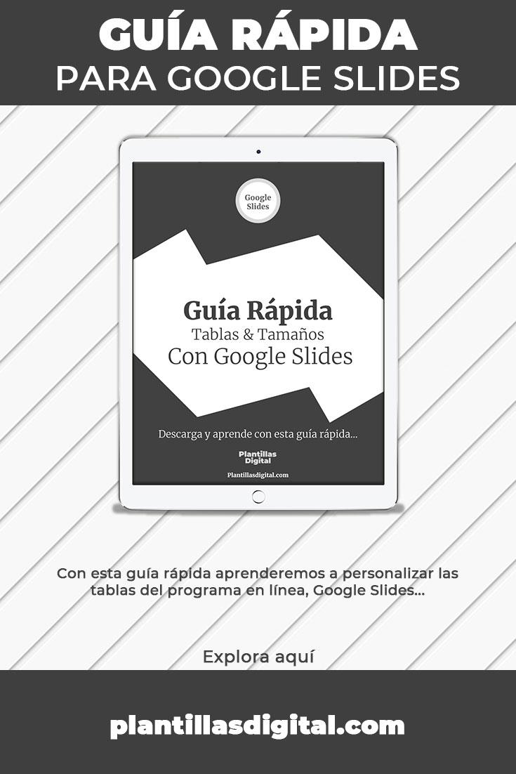 guia rapida para google slides