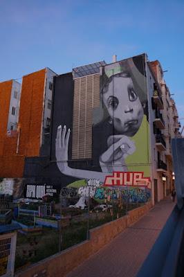 street art em Barcelona