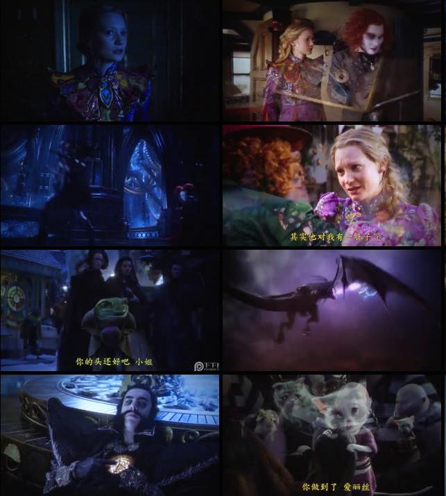 Alice Through the Looking Glass 2016 English 480p TCRip