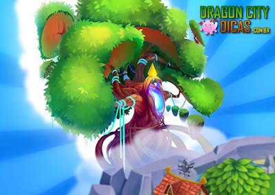 A Árvore da Vida chegou ao Dragon City!