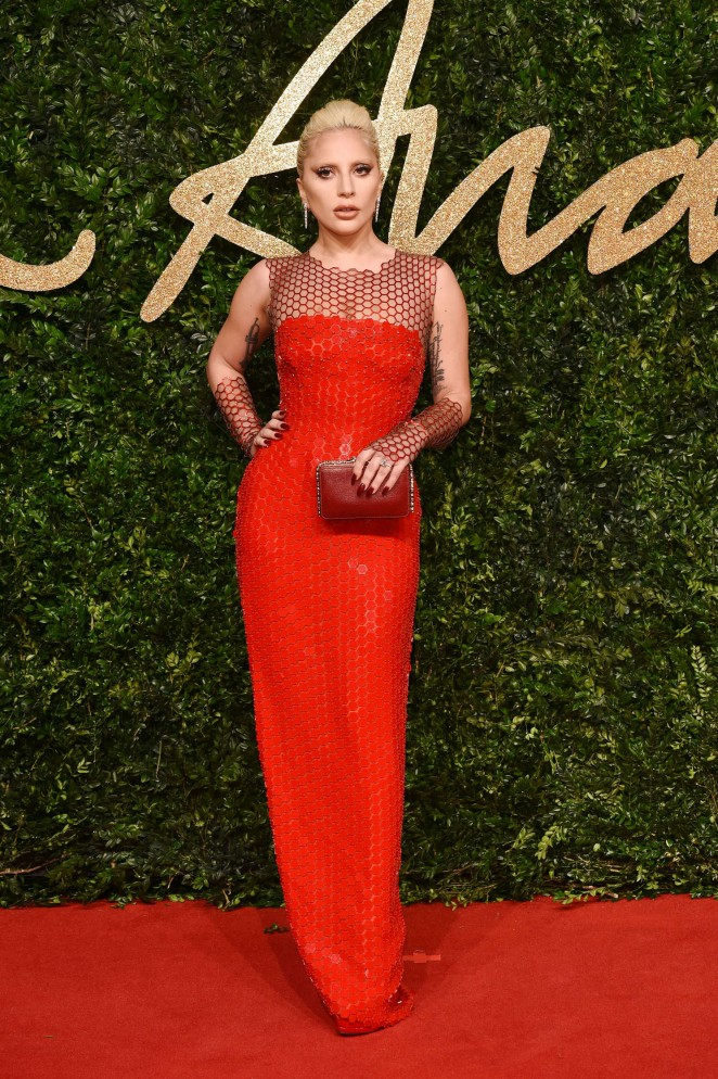 Lady Gaga – British Fashion Awards 2015 in London