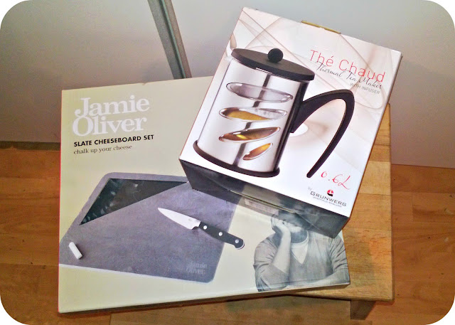 HomeSense Purchases Jamie Oliver Cheese Board Tea Infuser