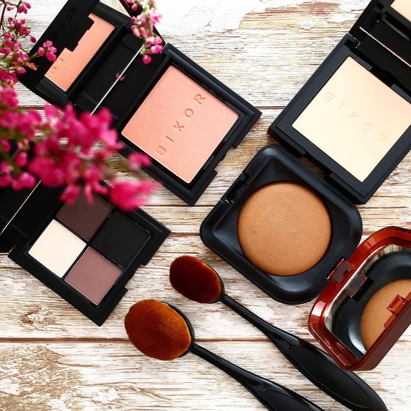 Przegląd kosmetyków marki Bikor - Ziemia Egpiska, puder Oslo, róż Sunrise i najlepsze cienie jakich używałam