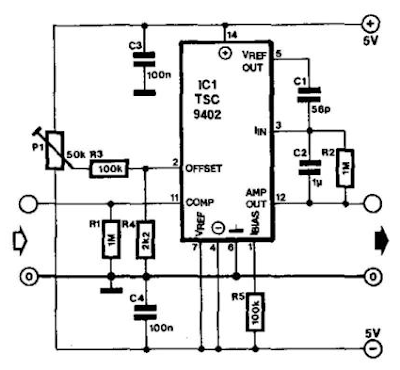 Build a Frequency Voltage Converter Circuit Diagram