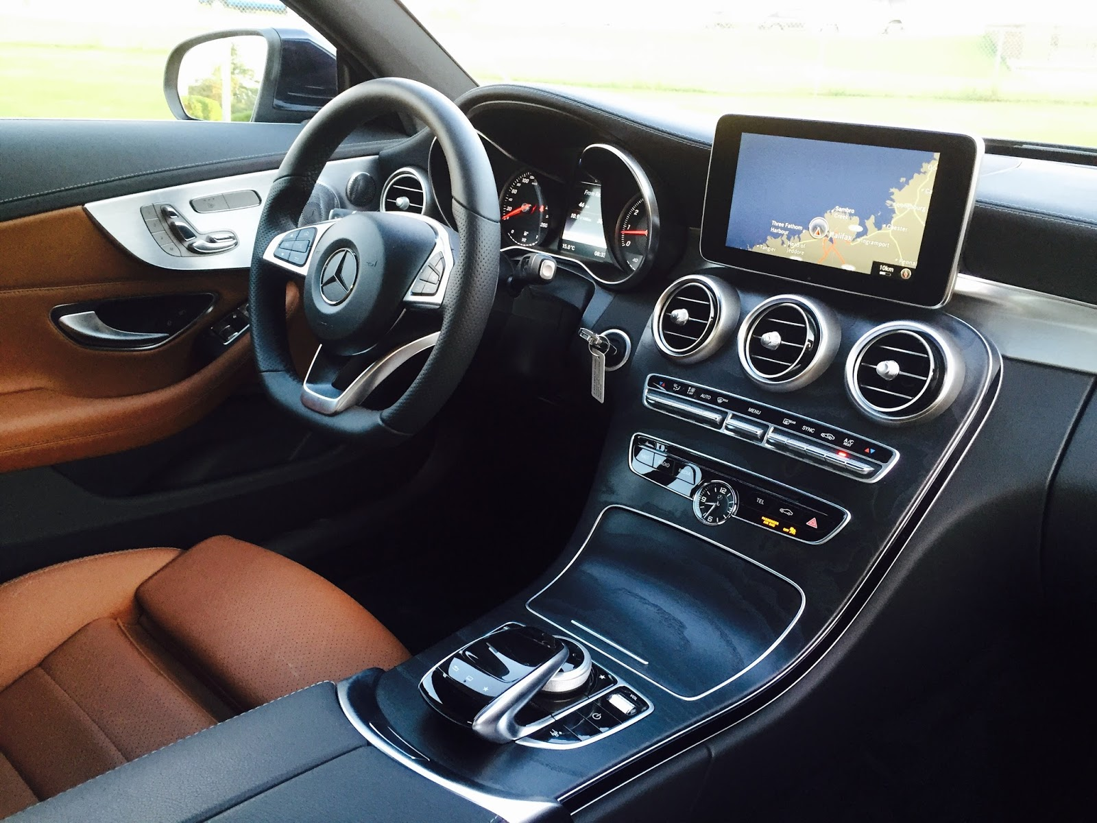 2017 mercedes benz c300 coupe interior [ 1600 x 1200 Pixel ]